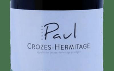 Envie d'un Crozes Hermitage Rouge d'exception ? Découvrez la Cuvée Paul du Domaine de La Ville rouge !